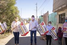 Promete Martínez Fuentes más obras para Quecholac, hoy dá banderazo para otro adoquimaniento.