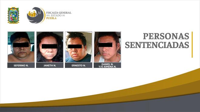 Cuatro personas sentenciadas a 50 años de prisión por secuestro