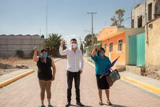 Martínez Fuentes regresa a San Simon de Bravo con el compromiso cumplido en Quecholac.