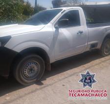 TRAS ROBO DE UNIDAD, POLICÍA MUNICIPAL DE TECAMACHALCO Y POLICÍA ESTATAL RECUPERAN CAMIONETA