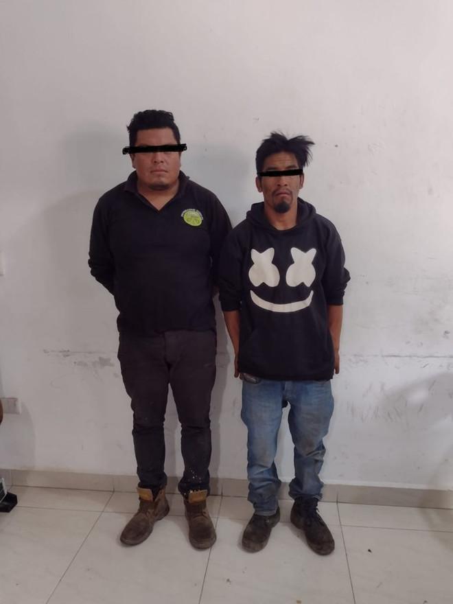 MUNICIPALES DE QUECHOLAC CAPTURAN A HUACHICOLEROS DE PALMAR DE BRAVO Y TLAXCALA.