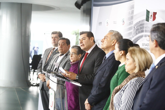 El Grupo Parlamentario de Morena manifestó su beneplácito por la inminente aprobación de la minuta q