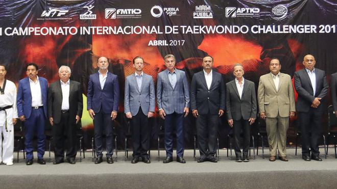Inaugura Tony Gali El Campeonato Internacional De Taekwondo Challenger 2017