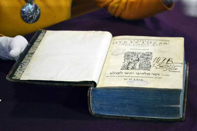 La Biblioteca Histórica José María Lafragua resguarda uno de los ejemplares de la primera traducción