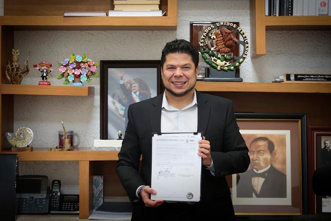 Congreso del Estado firma convenio de colaboración con el Instituto Nacional del Suelo Sustentable