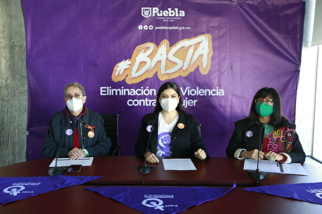 Ayuntamiento de Puebla reitera su compromiso por erradicar la violencia contra las mujeres