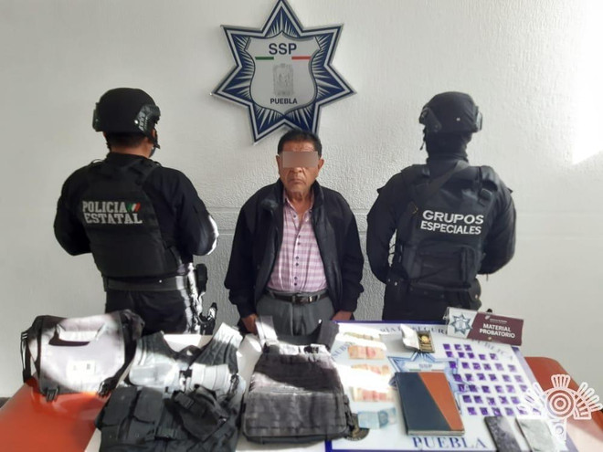 """Detiene Policía Estatal a presunto operador de """"La Patrona"""""""