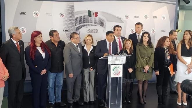 Senadores de Morena se pronunciaron a favor de que la dirigencia nacional abra la encuesta y le perm