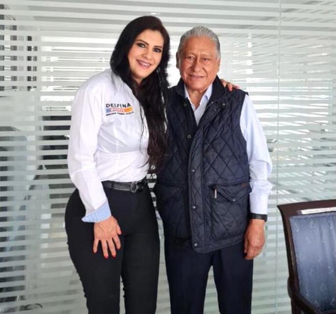 El exgobernador Melquiades Morales Flores otorga respaldo al proyecto político de Delfina Pozos