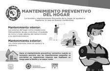 Protección Civil Municipal emite recomendaciones para el hogar previo a temporada de lluvias