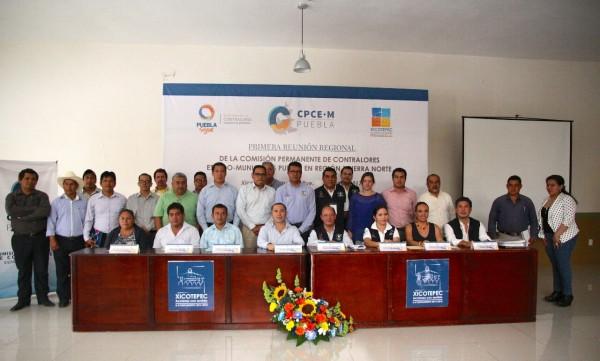 Realiza Gobierno del Estado primera reunión regional de contralores