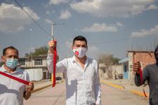 Ayuntamiento de Quecholac y JAMF entrega a San Simon de Bravo compromiso pactado con la ciudadanía