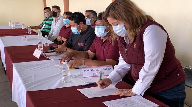 En Asamblea ext. Comité del cambio verdadero y la 4T exigen no permitir imposición de Mier Bañuelos.