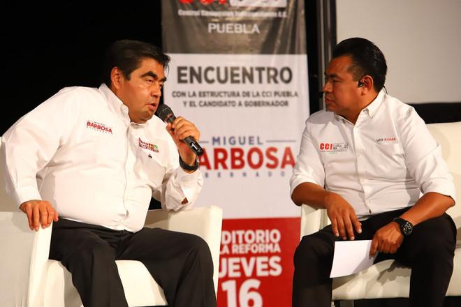 La actividad política debe ser encaminada a construir el bien común: Barbosa Huerta