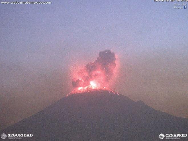 Tras actividad del Popocatépetl se activaron protocolos de revisión