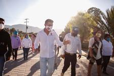 Invierte Ayuntamiento de Quecholac y Martínez Fuentes 2.1 millones en obras en San Juan.