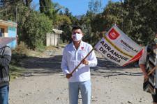 Ayuntamiento Quecholac y JAMF invierten 1.16 millones para obra de adoquín en Palmarito Tochapan.