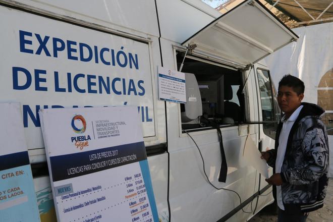 Unidades móviles emitirán licencias de conducir en tres municipios.