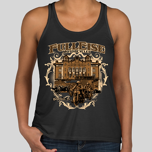Town Pride Womens Tank Black
