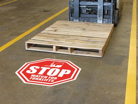 Pravilnik o označevanju poti v podjetjih, proizvodnjah in skladiščih