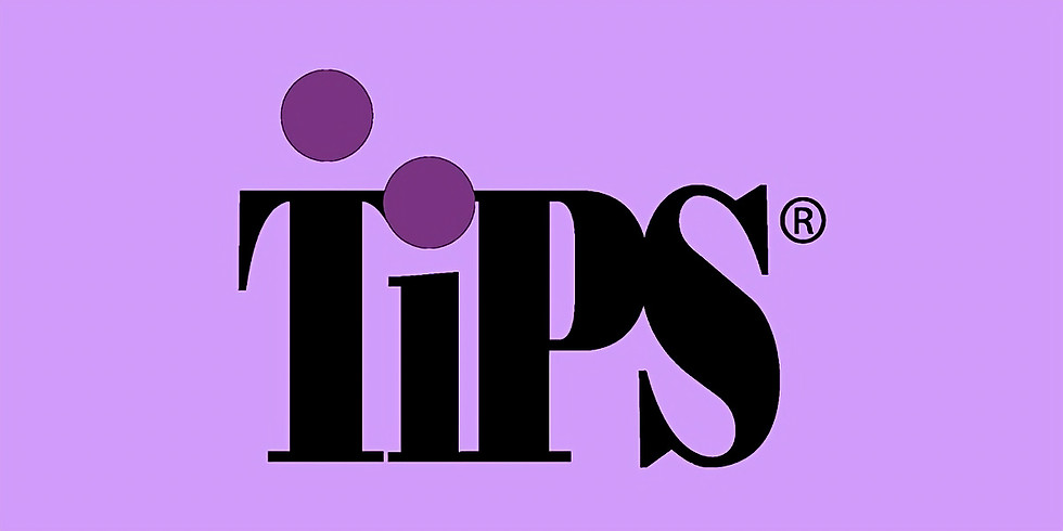 Virtual TIPS Training (for liquor/grocery stores) - May 14th