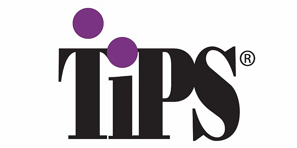 Virtual TIPS Training (bars, restaurants, wineries, breweries) - May 12th