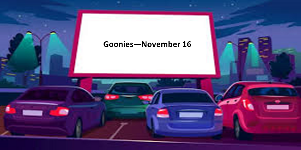 Wheels and Reels Movie Drive-In at Cape May Ferry (Goonies)