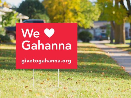 #givetogahanna 2020