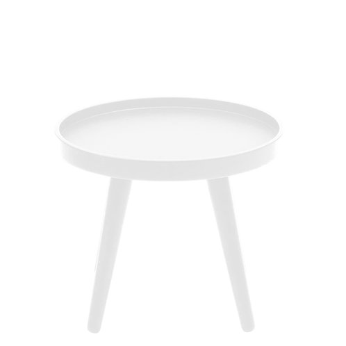 Alma lille sofabord, hvidt / small coffee table, white