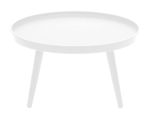 Alma stort sofabord, hvidt / big coffee table, white