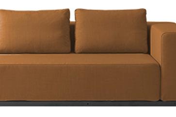 Softline Nevada sofa, rust / Softine Nevada couch, rust