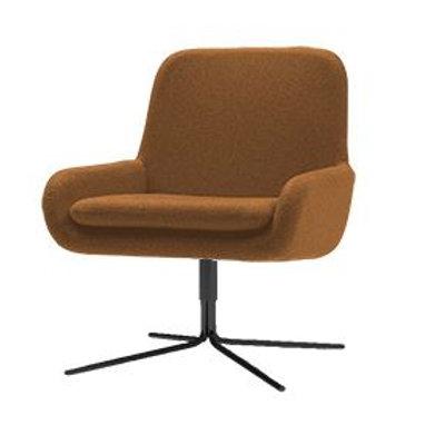 Coco dreje lænestol, rust / Coco swivel armchair, rust
