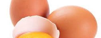 Ovos caipira tipo grande bandeja c/10 unidades