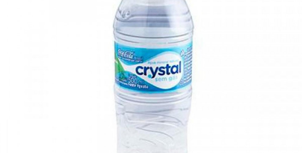 ÁGUA CRYSTAL 500ML NATURAL
