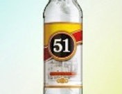 Bebida alcoólica 51 litro