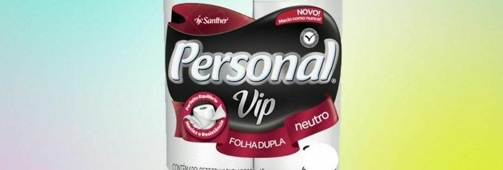Papel higiênico personal com 4 rolos