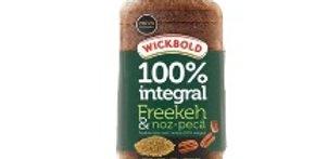 Pão integral freekeh wickbold