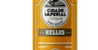 Cerveja cidade imperial Helles 473ml