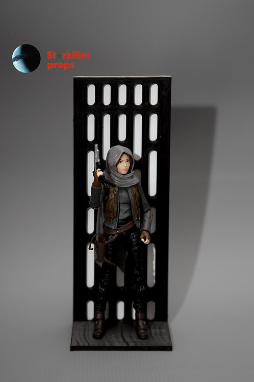 Star Wars Black Series 6 inch Action Figure Stands - Multi-peg - BLACK