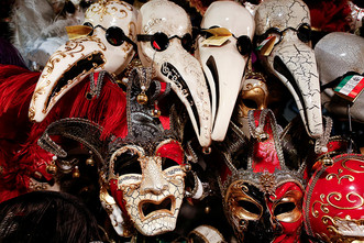 Ах, карнавал, удивительный мир...