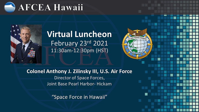 Space Forces in Hawaii Virtual Presentation