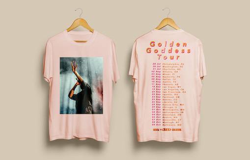 Golden Goddess Tour Shirt