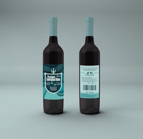 Poseidon Bottle Mockup