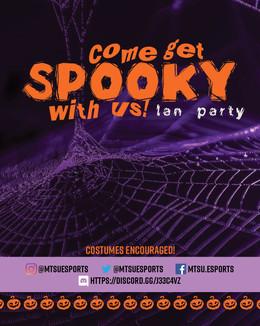 Halloween LAN Advert