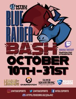 Blue Raider Bash Poster