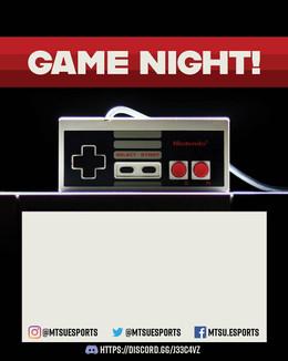 Game Night Advert