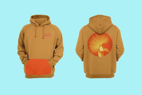 Golden Goddess Hoodie Merch Design