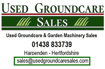 used groundcare sales, used groundcare harpenden, used groundcare hertfordshire,