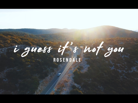 Watch the lyric video for my new song, i guess it's not you!