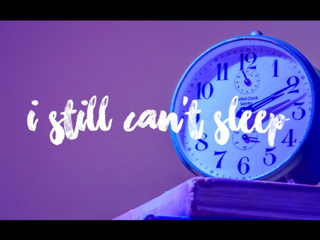 """My new song """"Still can't sleep"""" is out today!"""